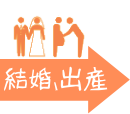 結婚、出産(Marriage and delivery)